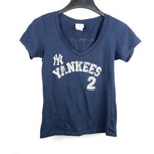 NY Yankees Jeter Genuine Merchandise MLB Shirt
